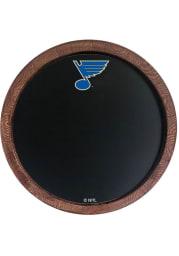St Louis Blues Chalkboard Faux Barrel Top Sign