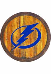 Tampa Bay Lightning Faux Barrel Top Sign