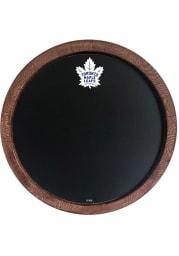 Toronto Maple Leafs Chalkboard Faux Barrel Top Sign