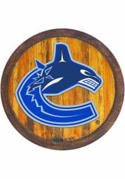 Vancouver Canucks Faux Barrel Top Sign