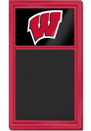 Wisconsin Badgers Chalk Noteboard Sign