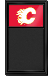 Calgary Flames Chalk Noteboard Sign