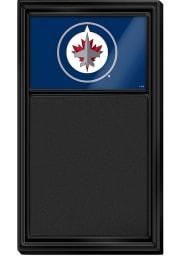 Winnipeg Jets Chalk Noteboard Sign