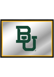 Baylor Bears Framed Mirrored Wall Sign