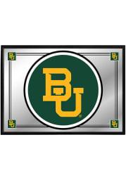 Baylor Bears Logo Team Spirit Framed Mirrored Wall Sign