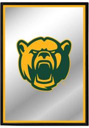 Baylor Bears Mascot Framed Mirrored Wall Sign