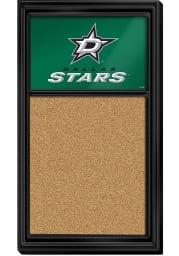 Dallas Stars Cork Noteboard Sign