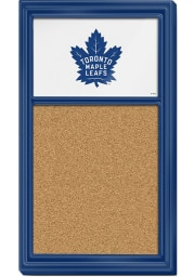 Toronto Maple Leafs Cork Noteboard Sign