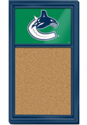 Vancouver Canucks Cork Noteboard Sign