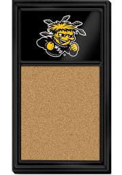 Wichita State Shockers Cork Noteboard Sign