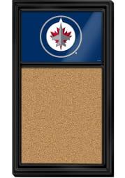 Winnipeg Jets Cork Noteboard Sign