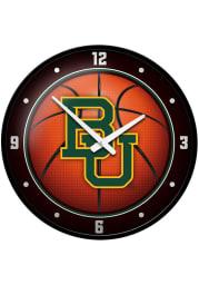 Baylor Bears Basketball Modern Disc Wall Clock
