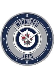 Winnipeg Jets Modern Disc Wall Clock