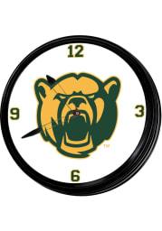 Baylor Bears Logo Retro Lighted Wall Clock