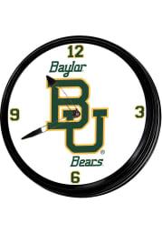 Baylor Bears Retro Lighted Wall Clock