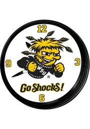 Wichita State Shockers Retro Lighted Wall Clock
