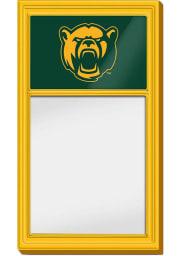 Baylor Bears Logo Dry Erase Noteboard Sign