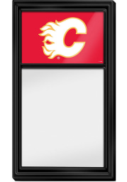 Calgary Flames Dry Erase Noteboard Sign