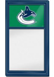 Vancouver Canucks Dry Erase Noteboard Sign