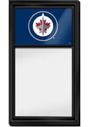 Winnipeg Jets Dry Erase Noteboard Sign