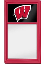 Wisconsin Badgers Dry Erase Noteboard Sign