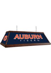Auburn Tigers Wood Light Pool Table