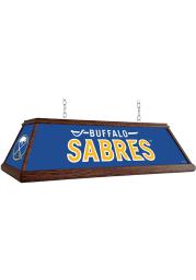 Buffalo Sabres Wood Light Pool Table