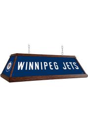 Winnipeg Jets Wood Light Pool Table