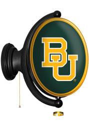 Baylor Bears Logo Oval Rotating Lighted Sign
