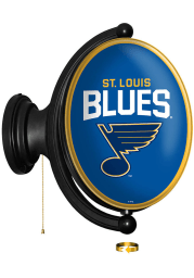 St Louis Blues Oval Rotating Lighted Sign