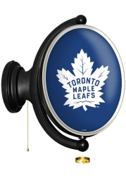 Toronto Maple Leafs Oval Rotating Lighted Sign