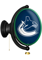 Vancouver Canucks Oval Rotating Lighted Sign