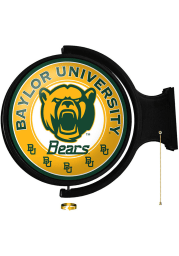 Baylor Bears Round Rotating Lighted Sign