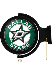 Dallas Stars Round Rotating Lighted Sign