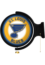 St Louis Blues Round Rotating Lighted Sign