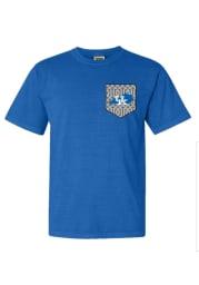 Kentucky Wildcats Womens Blue Comfort Colors Short Sleeve Unisex Tee