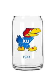 Kansas Jayhawks Can Pint Glass