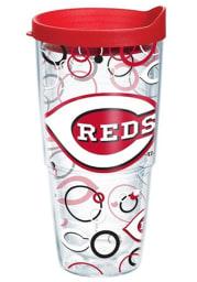 Cincinnati Reds 24oz Bubble Wrap Tumbler
