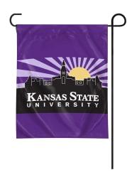 K-State Wildcats Starburst Sky Garden Flag