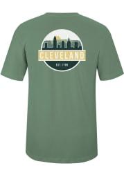 Cleveland Artichoke Scenic Circle Short Sleeve T-Shirt