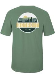 Detroit Artichoke Scenic Circle Short Sleeve T-Shirt