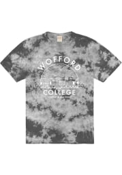 Wofford Terriers Black Tie Dyed Short Sleeve T Shirt