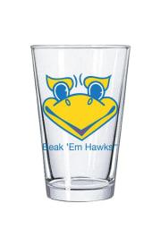 Kansas Jayhawks 16oz Beak Pint Glass