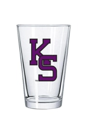 K-State Wildcats 16oz Letters Pint Glass