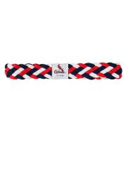 St Louis Cardinals Braided Stretch Womens Headband