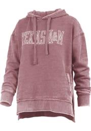 Texas A&M Aggies Womens Maroon Marni Hooded Sweatshirt