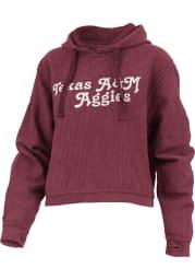 Texas A&M Aggies Womens Maroon California Dreaming Hooded Sweatshirt