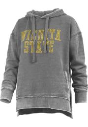 Wichita State Shockers Womens Black Marni Hooded Sweatshirt