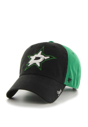 47 Dallas Stars Black Two Tone Sparkle Womens Adjustable Hat
