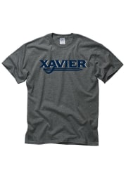 Xavier Musketeers Grey Rally Loud Short Sleeve T Shirt